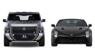Toyota zkřížila SUV s dodávkou a hybrid se sporťákem