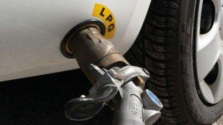 Tankování LPG