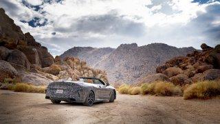 BMW řady 8 Cabrio - klimatické testy
