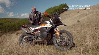 Recenze endura KTM Adventure 790 R s podvozkem WP XPLOR PRO