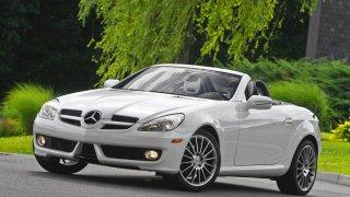 Mercedes-Benz SLK: Uvedený vůz již není součástí m