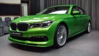 Alpina B7 Biturbo Java Green 3