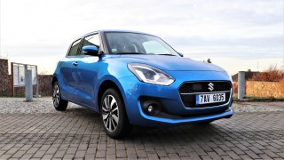 Suzuki Swift 4x4 mild-hybrid