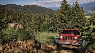 Jeep Wrangler dynamické 4
