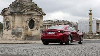 Lexus RC představení v Paříži