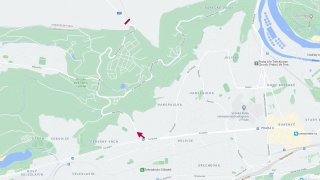 Horoměřická - mapa