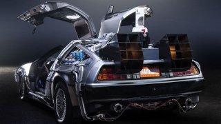 Muzeum amerických aut v Nové Bystřici ukrývá i DeLorean z filmu Návrat do budoucnosti