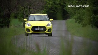 Test malého hatchbacku Suzuki Swift Sport