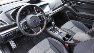 Subaru XV - interier 2
