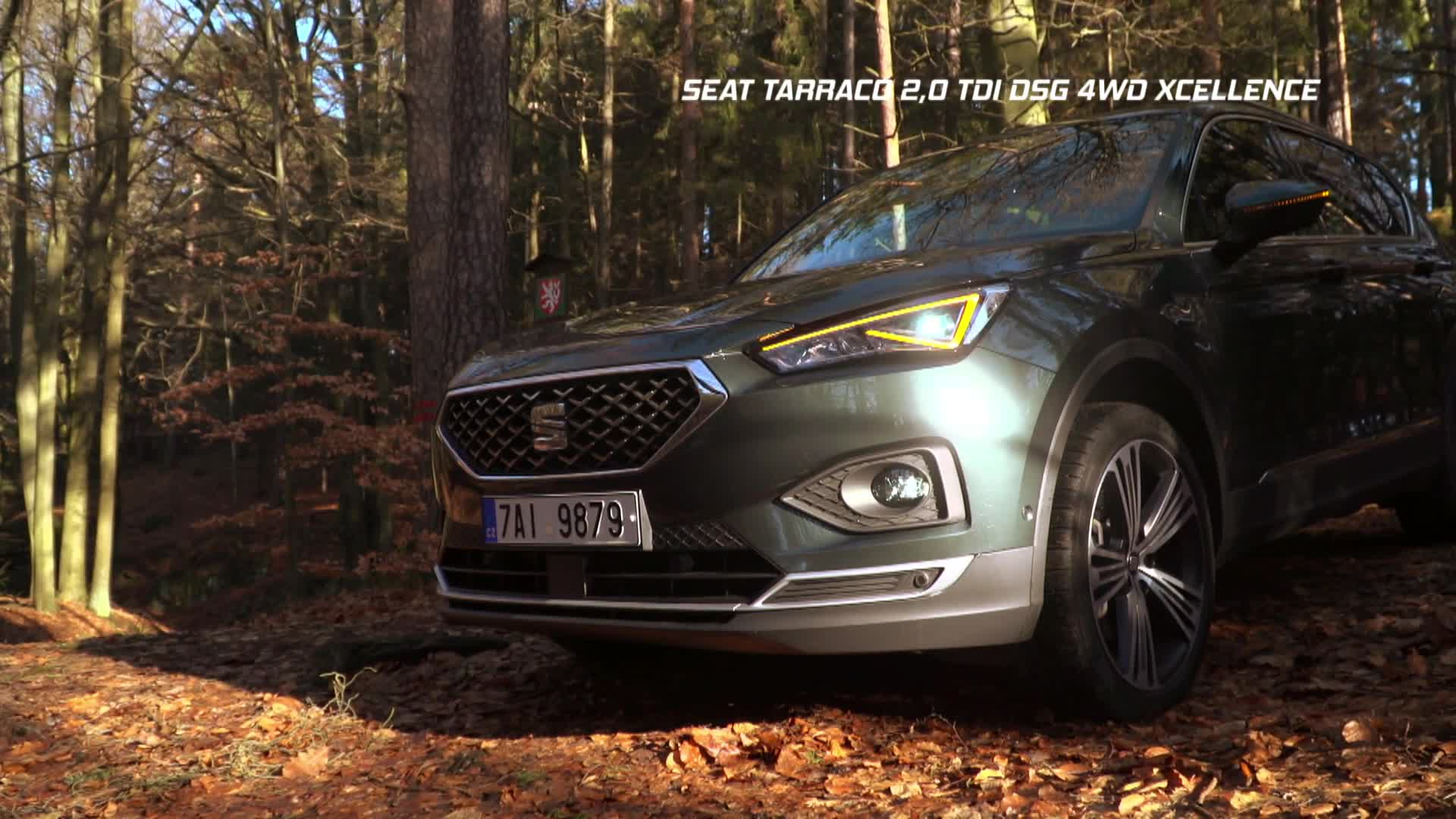Test rodinného SUV Seat Tarraco
