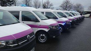 Vězeňská služba převzala nové vozy Volkswagen Transporter