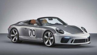 Porsche slaví studií vozu 911 Speedster Concept