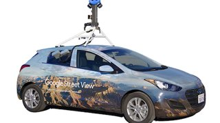 Auto pro Google Street View