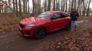 Test sportovního křížence SUV, kupé a sportovního vozu BMW X4M
