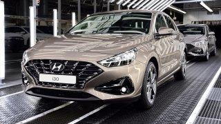 Hyundai v Nošovicích zahájil výrobu modernizovaného modelu i30. Závod zatím jede na dvě směny