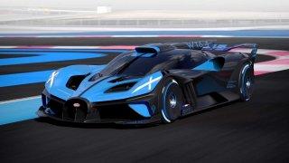 Z klidu na 500 km/h za pár sekund. Bugatti představilo extrémní model Bolide