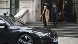 BMW 7 ve filmu Rudá volavka