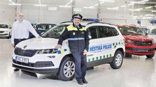 Městská policie v Rychnově nad Kněžnou má nový Karoq