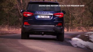 Test SUV Ssangyong Rexton G4 2.2 E-XDI Premium 4WD