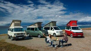 Volkswagen California slaví třicetiny