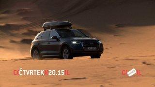 Brutální test Audi Q5: tři tisíce kilometrů po asfaltu, pistách i v písečných dunách v Maroku
