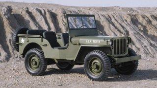 1941-1945 WILLYS MB v poušti