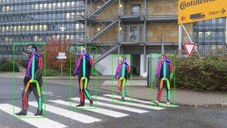 Klasifikace úmyslů a gest chodců pomocí neuronovýc