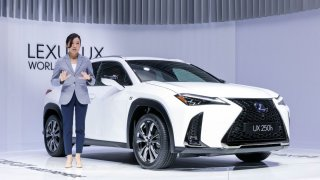 Nový Lexus UX inovuje i svět aerodynamiky