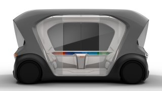 Bosch koncept vozu kyvadlové dopravy CES 2019 2