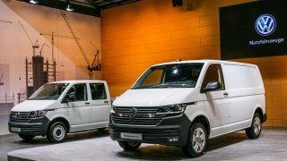 Volkswagen Transporter 6.1 debutuje na výstavě bauma 2019