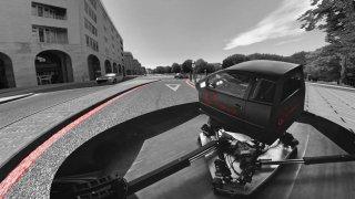 Honda jízdní simulátor