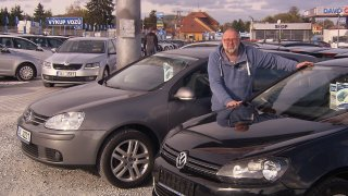 Do pětice nejprodávanějších ojetin patří Volkswagen Golf!
