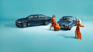 BMW řady 7 ve výroční edici 40 Jahre. 2
