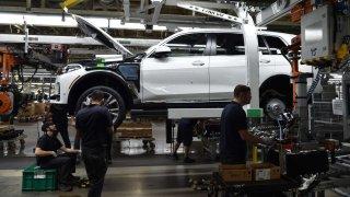 BMW výroba USA