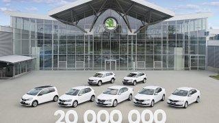 Škoda Auto vyrobila 20 milionů aut.