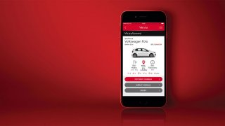 Auto si pronajmete přes mobilní aplikaci
