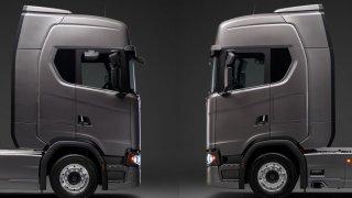 Scania - nastavení spoileru