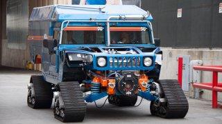 Ekologické Hummery jedou na Jižní pól