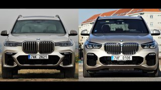 BMW X5 vs. X7