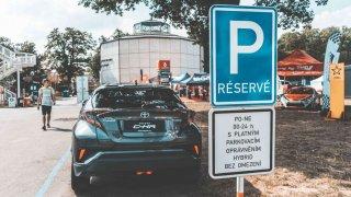 Hybrid parkování v Praze