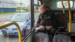 Policejní kontrola může číhat i v autobuse 3
