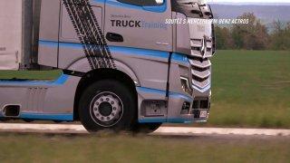 Soutěž s kamionem Mercedesem-Benz Actros