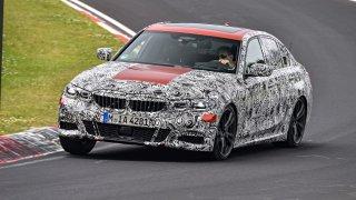 Nové BMW řady 3 Sedan ladí na Nürburgringu