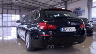 Luxus a rychlost! Test ojetého BMW 5