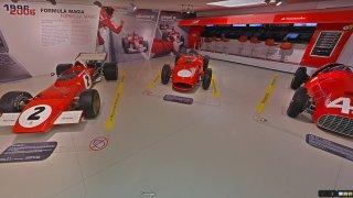 Ferrari virtuální prohlídka