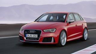 Audi RS3 je na ledě jako doma - Obrázek 1