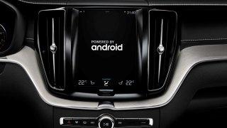 Volvo infotainment na platformě Android