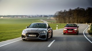 Audi si k oslavám čtyřicetin systému quattro dalo jeho nové ztvárnění pro elektrickou budoucnost