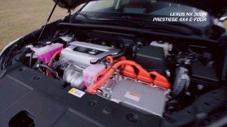 Recenze prémiového hybridního SUV Lexus NX 300H 4x4 E-Four