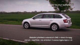 CNG tip na výlet - Slovensko
